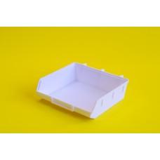 Tároló doboz műanyag 13*13 cm Fehér 0003