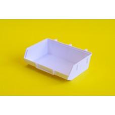 Tároló doboz műanyag 13*9 cm Fehér 0001