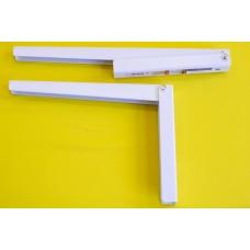 Lebillenthető konzol 28 cm , Fehér