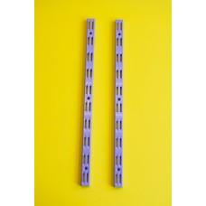 Falsín 50 cm , 50 mm-es osztás , Ezüst