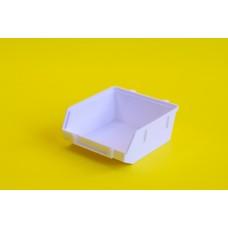 Tároló doboz műanyag 9*9 cm Fehér 0000